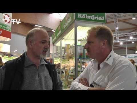 Wolfgang Bokelmann im Interview mit Klaus Steinbrink auf dem Int. TaubenMarkt Kassel 2016