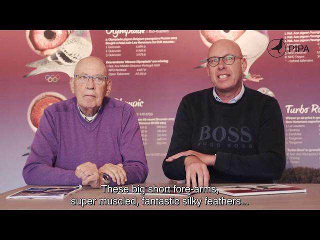 Hans and Evert Jan Eijerkamp tell about their success with Leideman pigeons