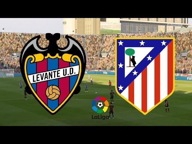 La Liga 2019/20 - Levante Vs Atletico Madrid - 12/04/20 - FIFA 20
