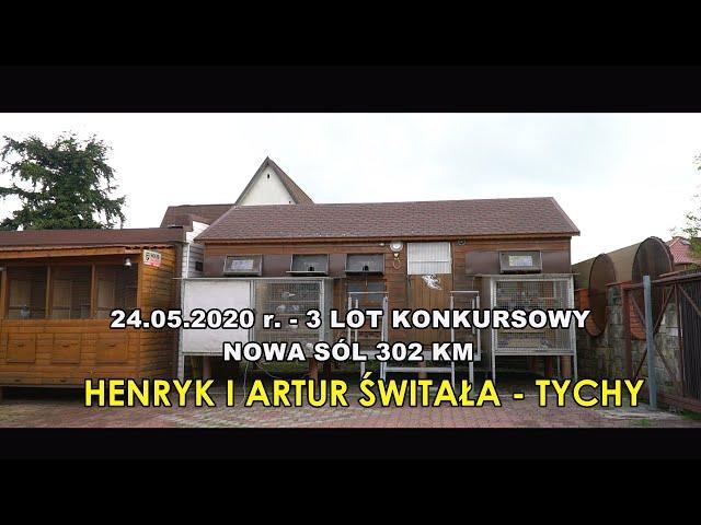 3 Lot konk. - Nowa Sól - 302 km  HENRYK  I ARTUR  ŚWITAŁA - TYCHY