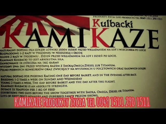 Kamikaze produkty życia firmy Kulbacki, najwyższej jakości produkty jakość APTECZNA!