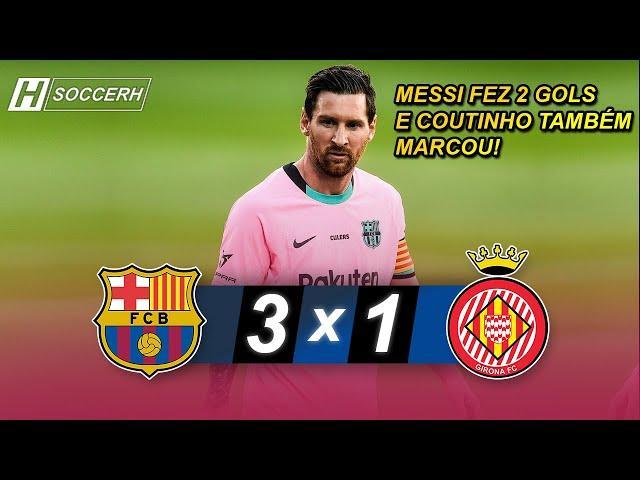 Barcelona vs Girona 3-1 | GOLS & MELHORES MOMENTOS - 16/09/2020