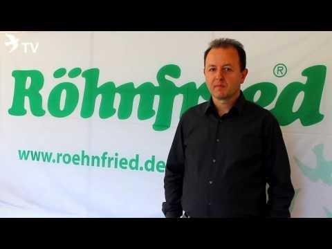 Alfred Berger und die neue roehnfried.de Webseite