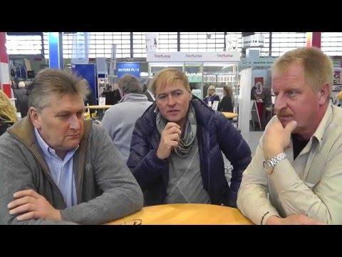 Alfons Klaas & Hans-Paul Eßer im Kurzinterview mit Klaus Steinbrink auf der DBA 2016 (Brieftauben)