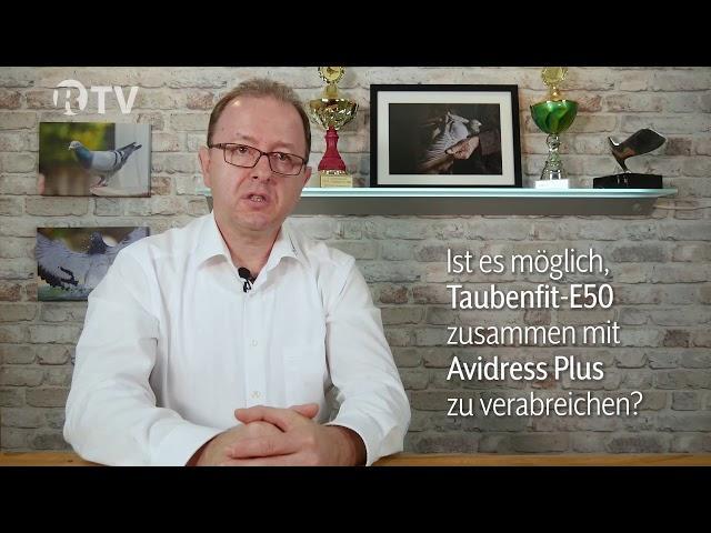 Taubenfit E50 und Avidress Plus – Frag den Berger – Röhnfried TV