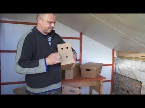 Nowe kartony do transportu gołębi i nie tylko