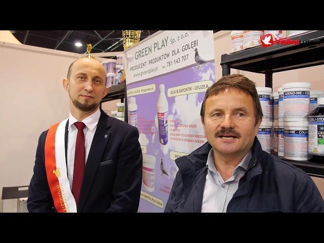 Green Play - mistrzowie o produktach - EXPO Gołębie Sosnowiec 2020