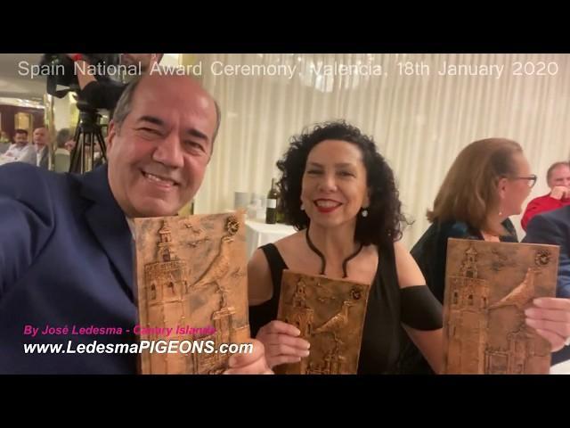 Spain National Award Presentation, Valencia 18th January 2020