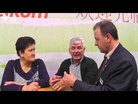Albert Derwa im Kurzinterview mit Alfred Berger auf der Fugare 2016 (Brieftauben)