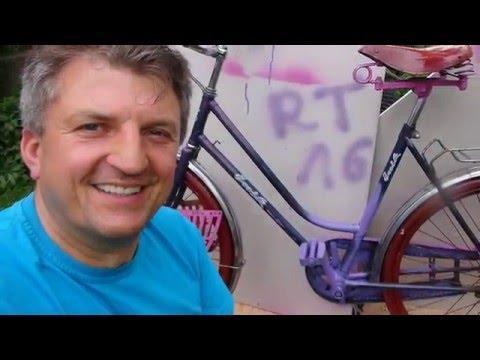 Rower na kwiaty do ogrodu w Bogatyni.