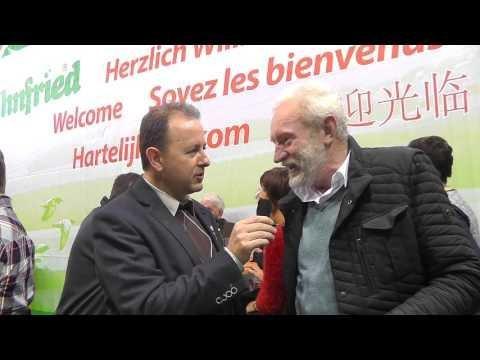 Leo Heremans im Kurzinterview mit Alfred Berger auf der Fugare 2016 (Brieftauben)