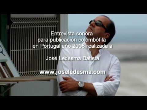 Entrevista a José Ledesma Batista en una publicación portuguesa año 2008