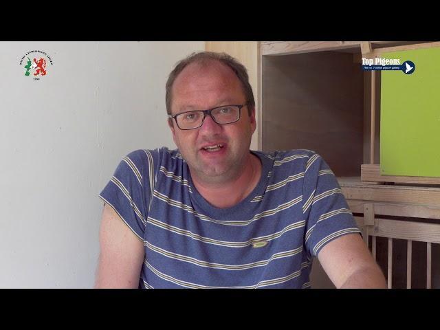 ZLU wedvlucht winnaar Pau 2019   Combinatie Paul Baas en Richard van den Berg