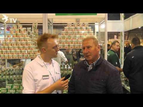 Darek Bonczek w wywiadzie z czołowym hodowcą z Oddziału Leszczyny (Targi EXPOGołębie 2016)