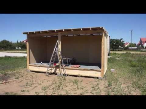 Budowa gołębnika - część 2 - 07.06.2016r.