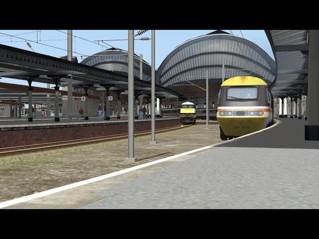 Train Simulator 2020: York - Peterborough, Intercity 43093/43077, ECML