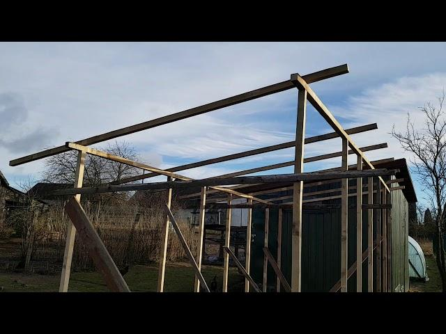 Racing pigeons loft update. 2018-01-07