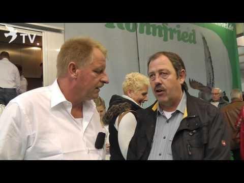 Jürgen Winter im Interview mit Klaus Steinbrink auf dem Int. TaubenMarkt Kassel 2016
