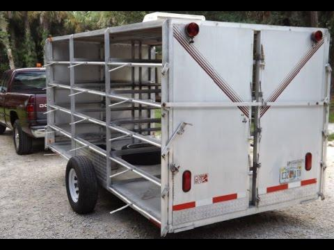 28 Crate Racing Pigeon Trailer - Southwest Florida Pigeon Racing