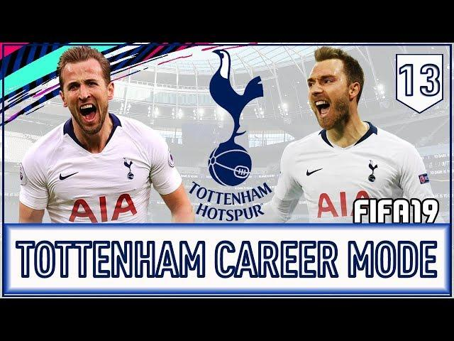 FIFA 19 Indonesia - Tottenham Hotspurs Career Mode #13 - Harry Kane Kembali Mencetak Gol!