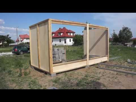 Budowa gołębnika - część 1 - 03.06.2016r.