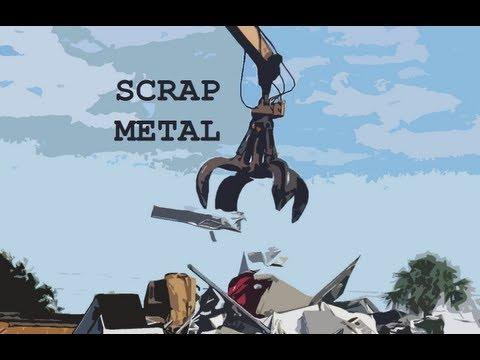 Collecting scrap metal in Naples Florida - a trip to the scrap yard.