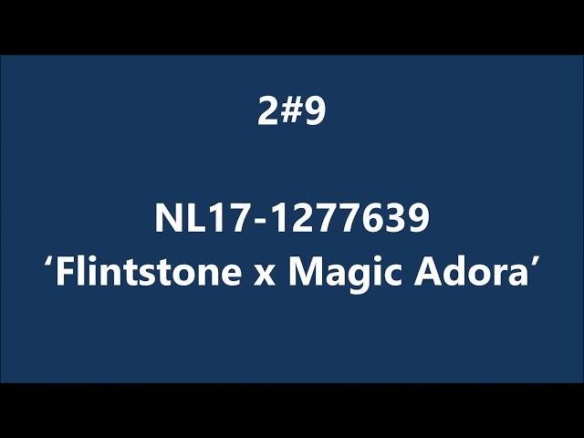 NL17-1277639 Flintstone x Magic Adora