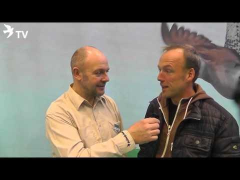 Hermann Denning im Kurzinterview mit Markus Neeb auf der DBA 2016 (Brieftauben)