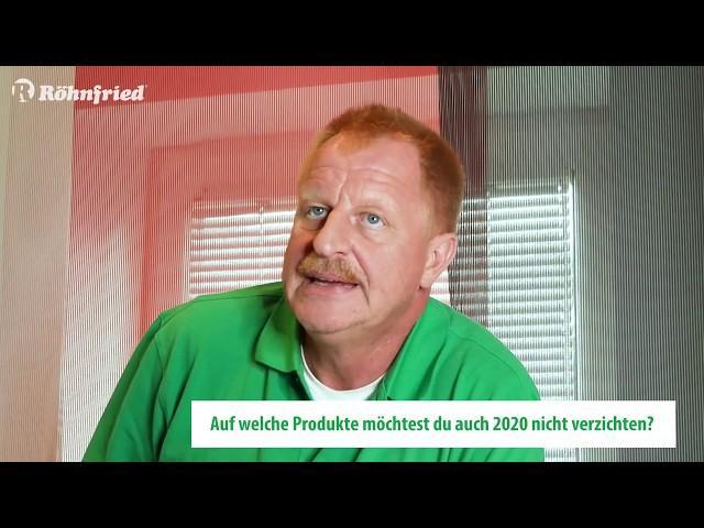 Röhnfried Lieblingsprodukte - Klaus Steinbrink