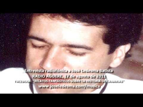 Entrevista a José Ledesma Batista en Radio-Aguere