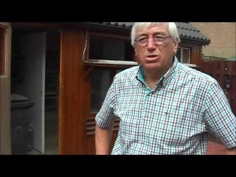 Maarten van Eekelen vertelt over zijn postduiven