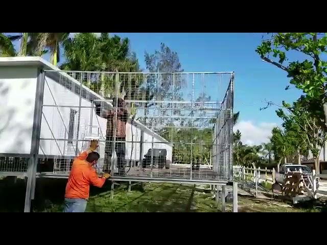 Pigeon Aviary Building