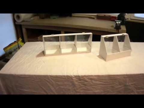 Karmniki segmentowe z PVC
