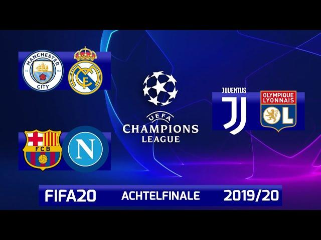 FIFA 20: Champions League - Achtelfinale - Rückspiele I Saison 2019/20 Deutsch [FULL HD]