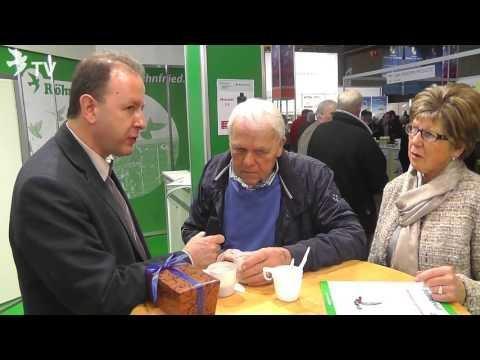 Marcel Vercammen im Kurzinterview mit Alfred Berger auf der Fugare 2016 (Brieftauben)