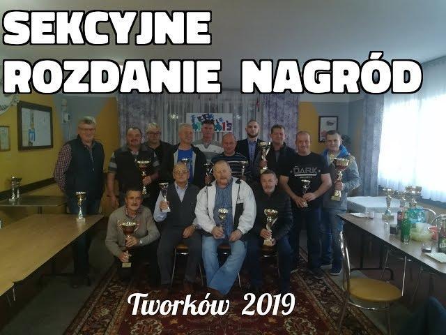 Sekcyjne rozdanie nagród Tworków 2019 najsilniejsza sekcja oddziału 0147 Racibórz