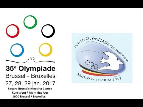 35. Olimpiada Gołębi Pocztowych - Bruksela 2017 /// 35th Olympics racing pigeons - Brussels 2017
