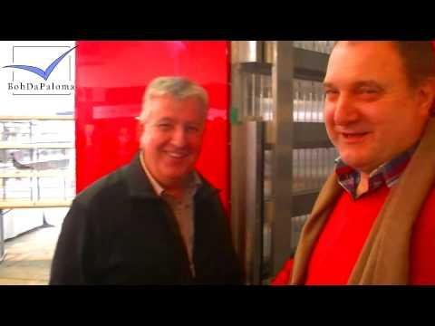 Klaus Geraldy and Johannes Jacobs (Tollisan) on the Blackpool Pigeon Show 2014