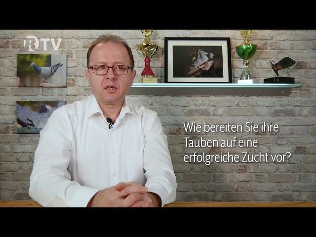 Zuchtvorbereitung von Brieftauben – Frag den Berger – Röhnfried TV