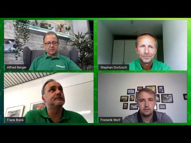 Berger fragt LIVE auf Facebook - 19.08.2020 - Gäste: Frank Book, Stephan Grotzsch und Frederik Wolf