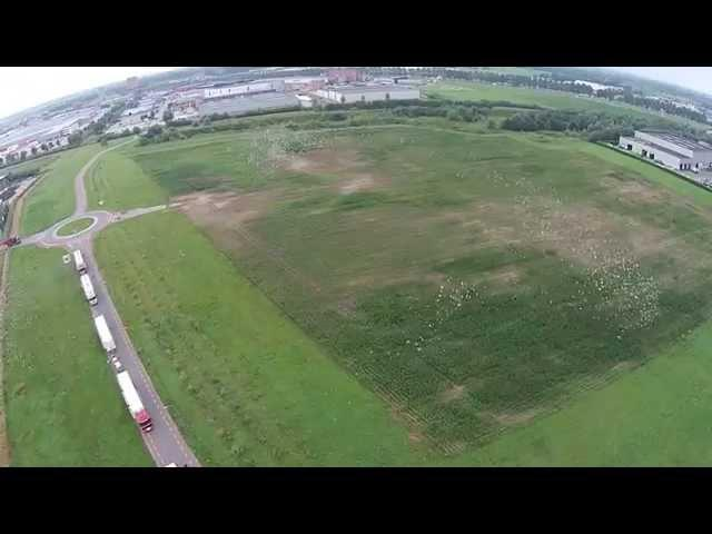 Drone video lossing duiven Afdeling Oost.
