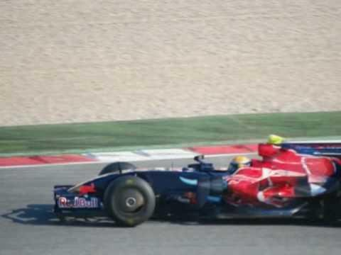 F1 Test Montmelo 19/11/2008 Slideshow