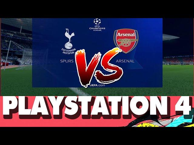 FIFA 20 Nintendo Switch Champions League Tonttenham vs Arsenal