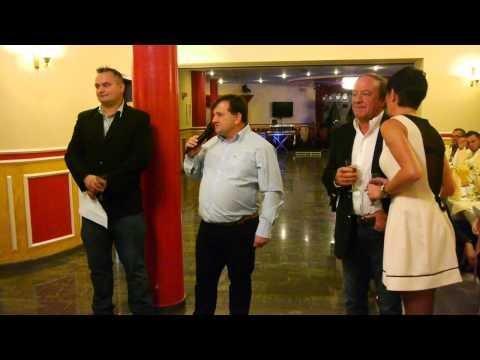 Zabawa w Radomsku 2013 - Artur Pawelec i Henk de Weerd dziękują za współpracę.