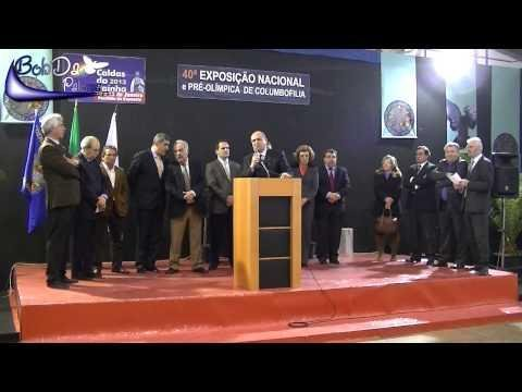 A speech on the Portugal Racing Pigeons exhibition 2013 (only in Portugese)