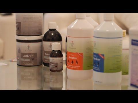 Taubenklinik - prezentacja produktów dla gołębi