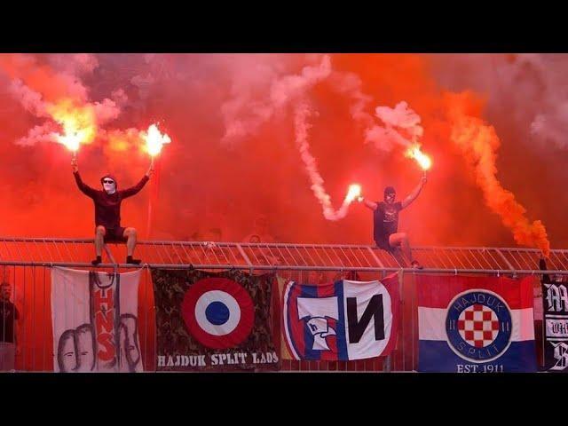 Hajduk Split Ultras (Torcida Split) - Best Moments