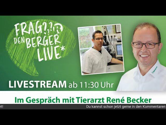 Frag den Berger LIVE auf Facebook - 15. Juli 2020