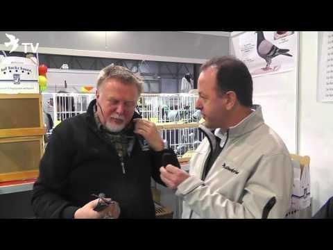 Heinz Richard Mennen im Kurzinterview mit Alfred Berger auf der EXPOGołębie in Polen 2016