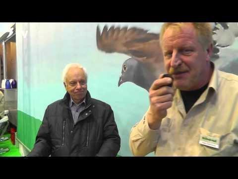 Horst Mennewisch im Kurzinterview mit Klaus Steinbrink auf der DBA 2016 (Brieftauben)